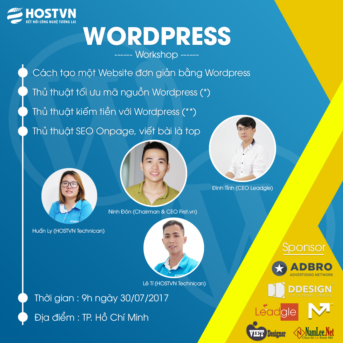 Workshop WordPress 2017