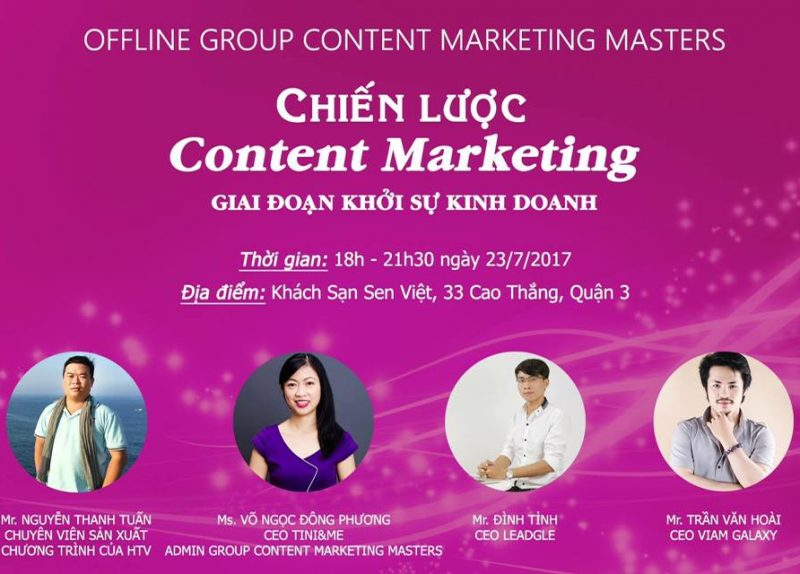 Offline Content Marketing Master